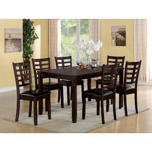 Tahlia 7 Piece Dining Set by ACME Furn..