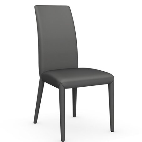 Anais Genuine Leather Upholstered Dining Chair