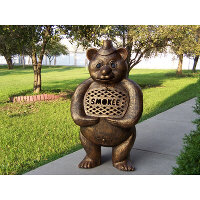 Smokee Bear Aluminum Wood Burning Chiminea Oakland Living