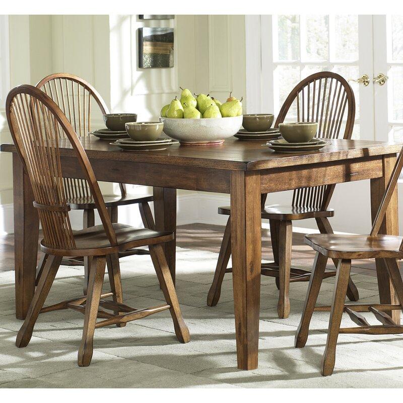 August Grove Koffler Dining Table Reviews Wayfair