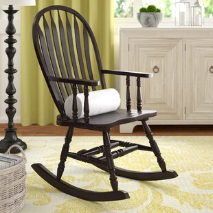 Silverman Rocking Chair With Arms by Darby Home Co Bargain