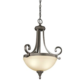 Red Barrel Studio Bretton 1-Light Bowl Pendant