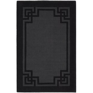 Martha Deco Frame Phantom Greek Key Area Rug