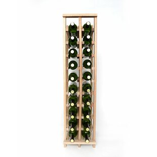 Premium Cellar Series 20 Bottle Floor Wine Rack