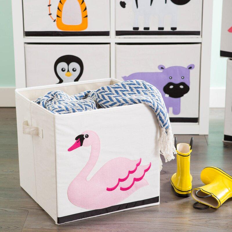 Isabelle Max Riordan Swan Toy Box Wayfair