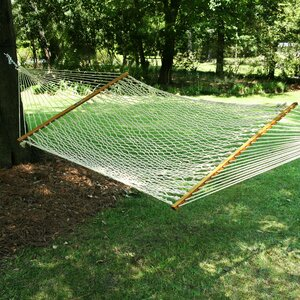 Large Original DuraCord Rope Tree Hammock