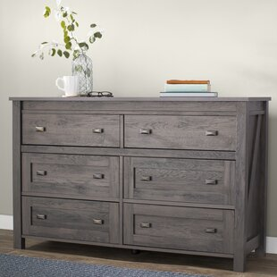 Cleveland 6 Drawer Double Dresser by Gracie Oaks