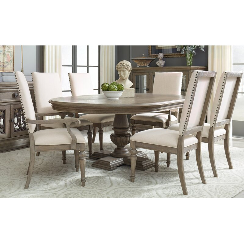 7 Piece Dining Table Set: Darby Home Co Bonham 7 Piece Extendable Dining Table Set