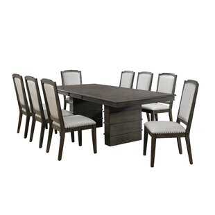 Seaver 9 Piece Extendable Dining Set Gracie Oaks