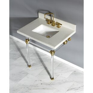 Quartz 30 Single Bathroom Vanity Set By Kingston Brass