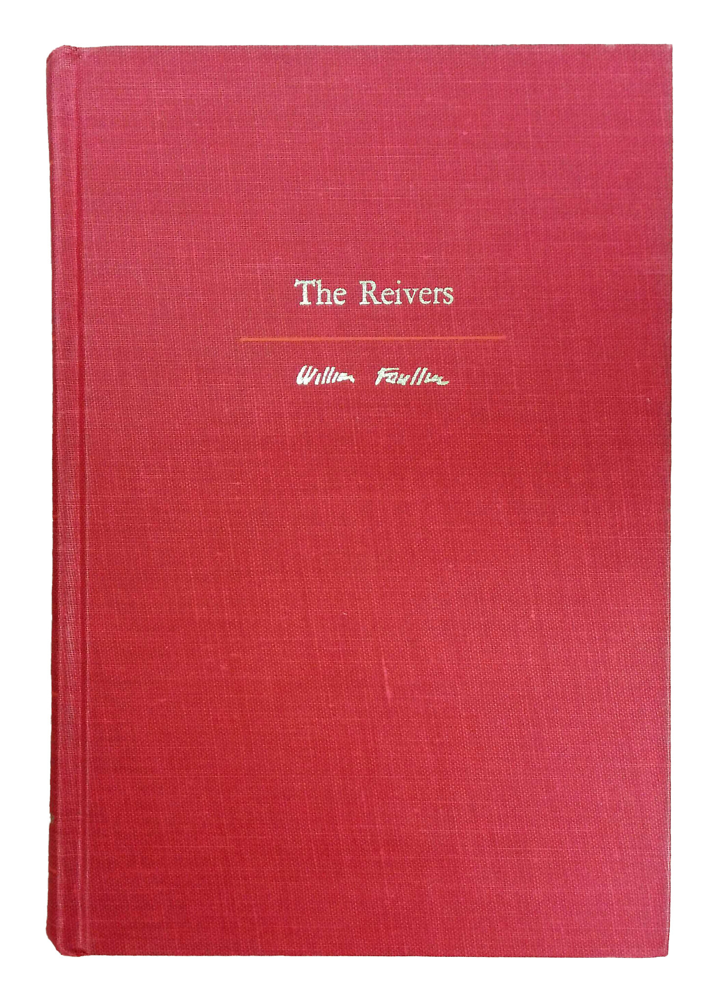Booth Williams Rare And Collectible 1962 The Reivers By William Faulkner Authentic Decorative Book Wayfair