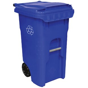 Edge Wheeled Recycling Bin By Otto
