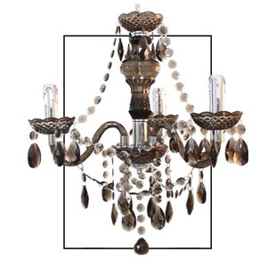 Princess 3-Light Candle-Style Chandelier by House Additions