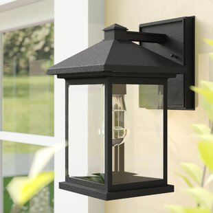 Order Leroy 1-Light Outdoor Wall Lantern By 17 Stories