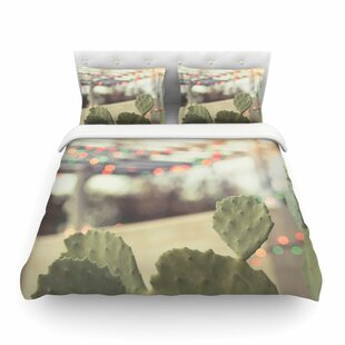 Austin Summer Party by Ann Barnes Featherweight Duvet Cover