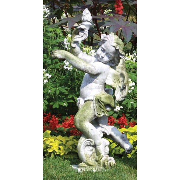 Attirant Weeping Angel Garden Statue | Wayfair