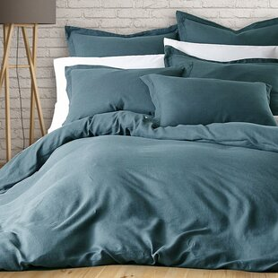 Mistana Murray 3 Piece French Linen Duvet Cover Set