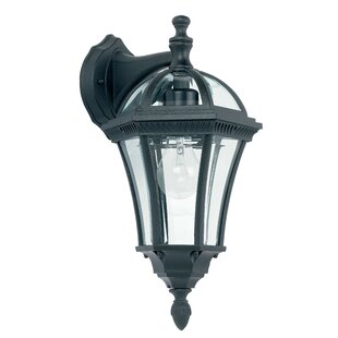Outdoor wall lights wayfair hafer 1 light outdoor wall lantern mozeypictures Image collections