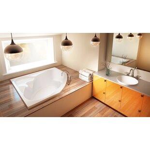 Capella 55 x 55 Drop In Soaking Bathtub by Jacuzzi®