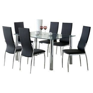 Jaxson 7 Piece Dining Set by Wade Logan
