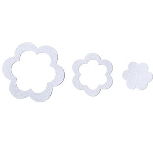 Adhesive Flower Bath Tread (Set of 21)