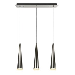 Aspen Creative Corporation 3-Light Kitchen Island Pendant