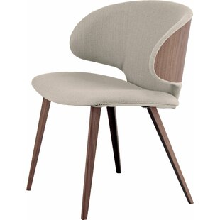 Harper Upholstered Dining Chair by Modloft Black Best #1
