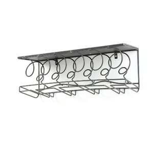 Douglass 6 Bottle Wall Mounted Wine Rack by Latitude Run