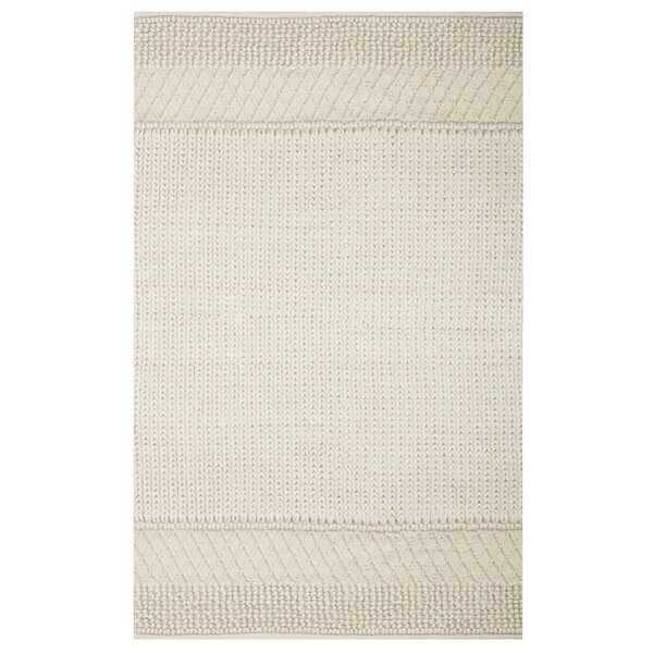 Gracie Oaks Triangle Sweater Hand Knotted Natural Area Rug & Reviews by Gracie Oaks