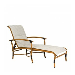Woodard Glade Isle Sling Reclining Chaise Lounge