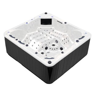 Tropic Spa Hurricane 7-Person 164-Jet Spa with LED Lights, Bluetooth and Wi-Fi