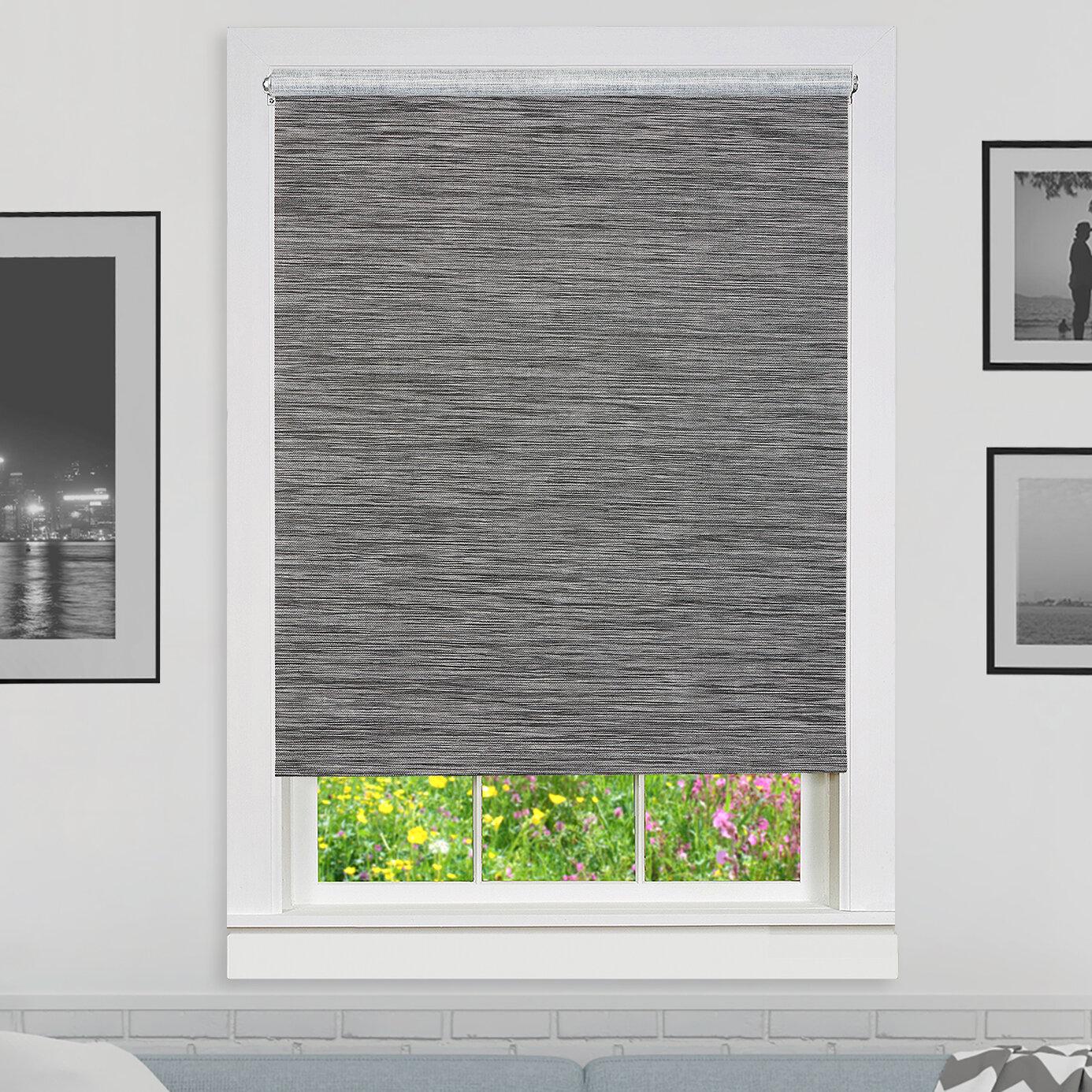 Silver Velour Velvet Window Pelmet Grey Glitter Roller Blind