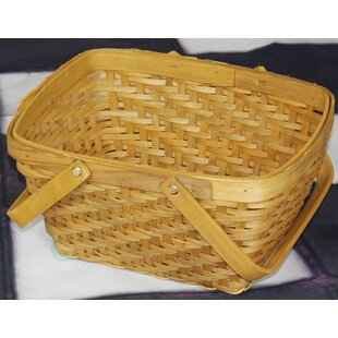 Rectangular Chip Picnic Basket by Quickway Imports
