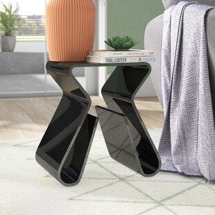 Miranda Functional End Table by Wade Logan
