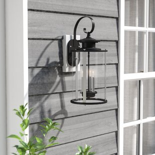 17 Stories Evgenia 3-Light Outdoor Wall Lantern