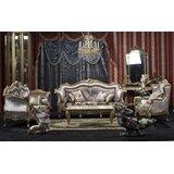 Grise 5 Piece Leather Living Room Set by Rosdorf Park
