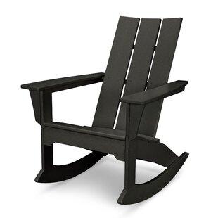 Plastic Rocking Adirondack Chair by POLYWOOD®