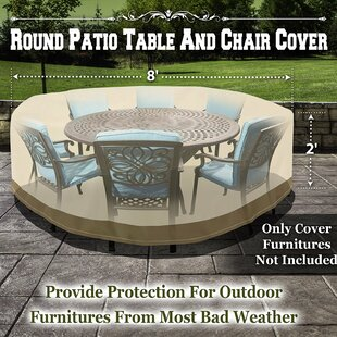 Freeport Park Patio Round Dining Set Cover