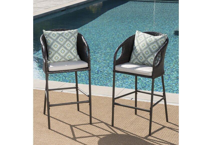 Patio Bar Outdoor Furniture You Ll Love In 2021 Wayfair