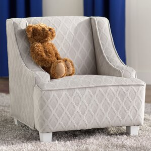 Terrell Juvenile Swoop Kids Club Chair By Viv + Rae
