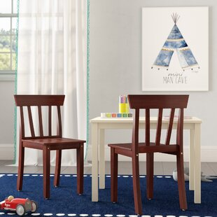 Dambrosio Ladderback Kids Desk Chair (Set of 2) by Zoomie Kids