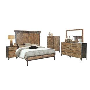Hessler King Sleigh 4 Piece Bedroom Set