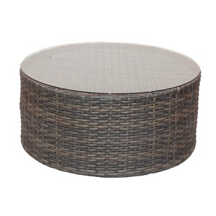 Cribbs Wicker Coffee Table