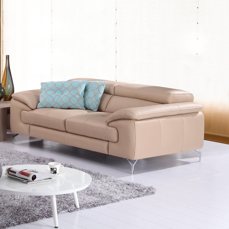 Colwyn Italian Leather Sofa & Reviews | AllModern