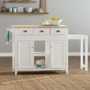 Ivanhoe Kitchen Island by Beachcrest Home