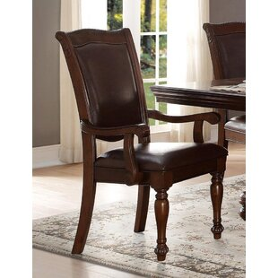 Darby Home Co Galewood Traditional Style Upholstered Dining Chair (Set of 2)