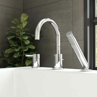Essential Style Single Handle Deck Mount Roman Tub Faucet by Keeney Manufacturing Company