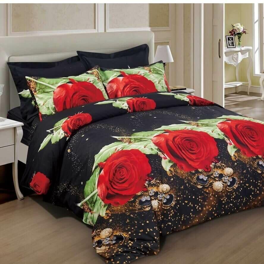 40 X 30 Kess InHouse Viviana Gonzalez Woods to Conjure Red Black Fleece Throw Blanket 40 by 30-Inch