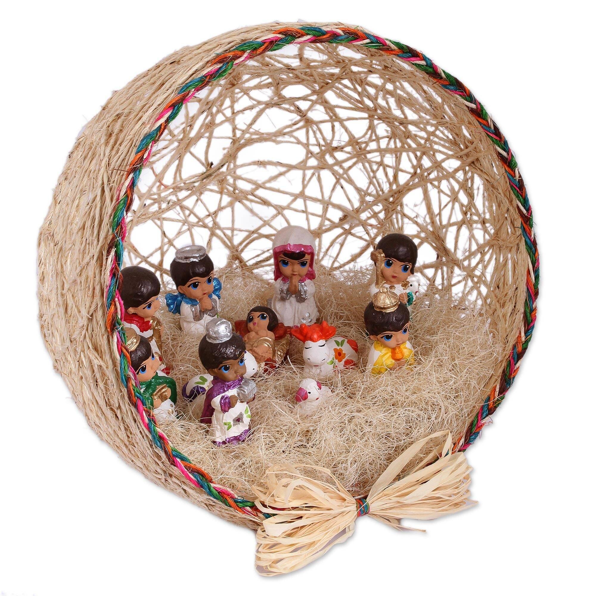 The Holiday Aisle Beginning Of Life Nativity Scene Wayfair