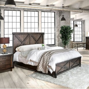 Buy clear Grecia Panel Bed by Three Posts Reviews (2019) & Buyer's Guide